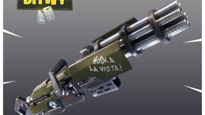 Fortnite minigun