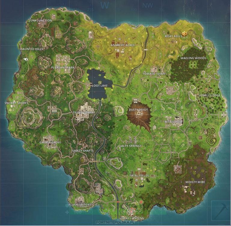 Wyzwania W Fortnite Sezon 4 Tydzień 2 Mapa Do Zrobienia