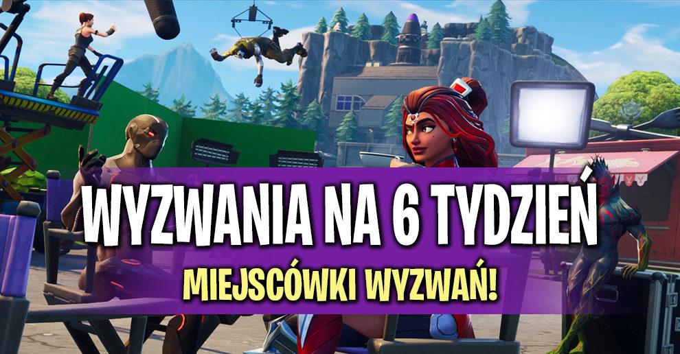 Wyzwania Na Sezon 4 Tydzień 6 Do Fortnite Fortnite Polska