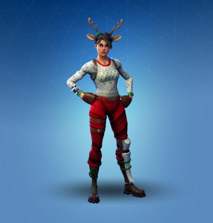 Na Kt 243 Ry świąteczny Skin Czekacie Najbardziej Fortnite