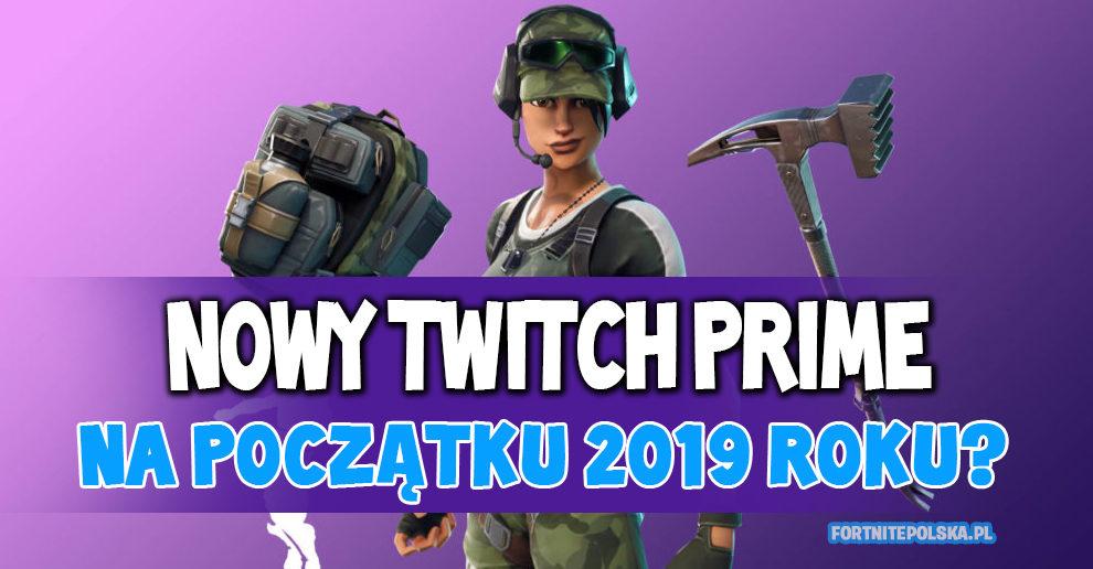 Nowy zestaw Twitch Prime na początku 2019 roku? - Fortnite