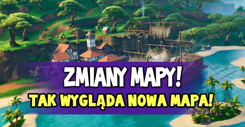 Tak Wygląda Nowa Mapa Sezonu 8 Nowe Obszary Fortnite Polska